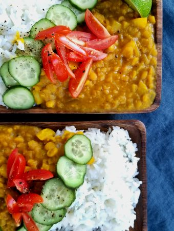Yellow Pepper Dal
