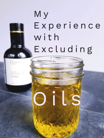 My Experience with Excluding Oils