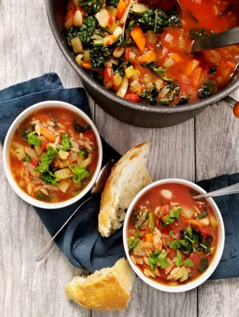 Fennel Minestrone with Orzo