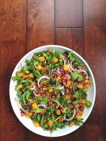 Roasted Squash Salad with Sage & Cider Dressing