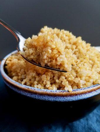 How To : Stove-top Quinoa