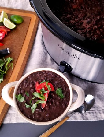 Jessica's Crock Pot Black Beans