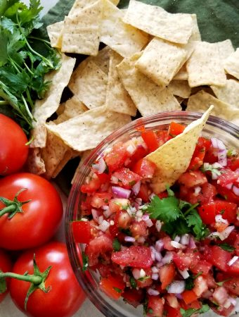 Mom's Fresh Salsa