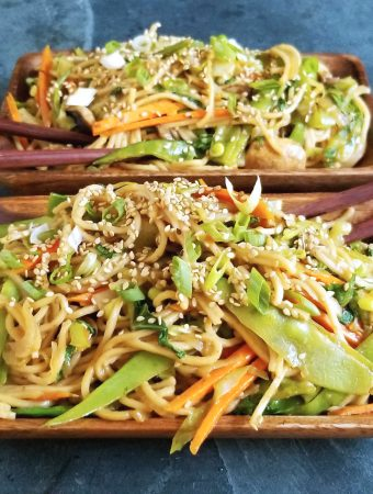 Oil-Free Takeout Chow Mein