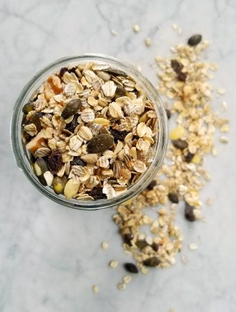 Walnut Pumpkin Muesli